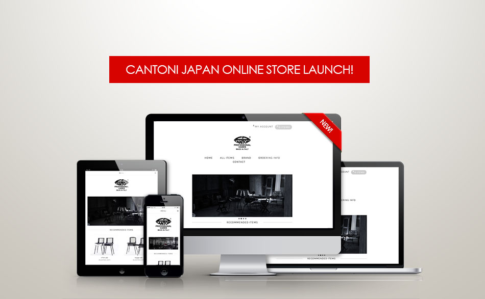 Cantoni Japan Online Store Launch!